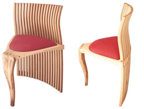 Mbira Art Chair Full Circle