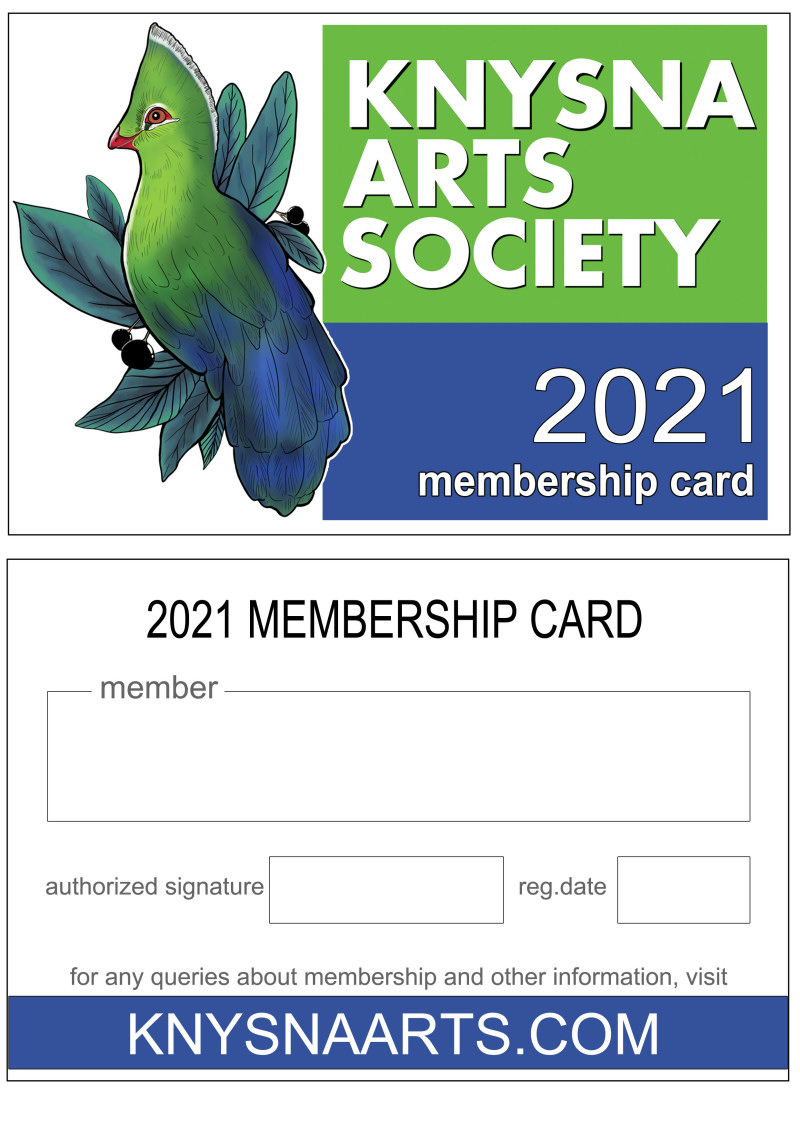 2021 Membership Card